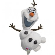 Ballonnenpost Frozen Olaf Mini Folie Ballon 26cm