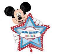 Mickey Mouse Gepersonaliseerde Supervorm Folie Ballon 76cm
