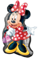 Minnie Mouse Supervorm Folie Ballon 55cm