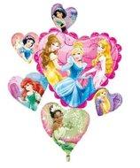 Disney Prinsessen Supervorm Harten XL Folie Ballon 86cm