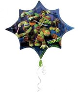 TM Ninja Turtles Supervorm XL Folie Ballon 88cm