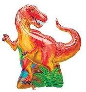 Prehistorisch Feestje T-Rex Supervorm Folie Ballon 79cm