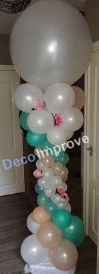 Luxe Ballonnen Pilaar