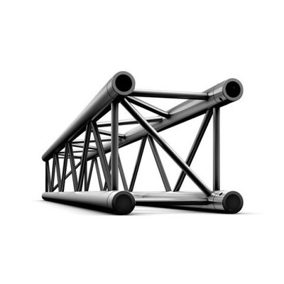 Straight 500mm Black Pro-30 Square P,F,G Truss