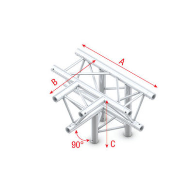 T-Cross + down 4-way Pro-30 Triangle P,F,G Truss