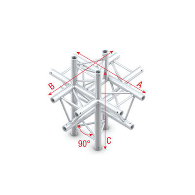 Cross up/down 6-way Pro-30 Triangle P,F,G Truss