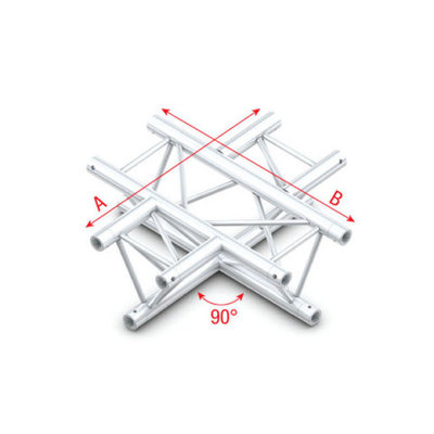 90° 4-way horizontal Pro-30 Triangle P,F,GTruss