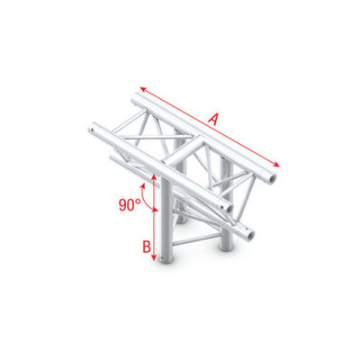 T-Cross ver. 3-way, apex down Pro-30 Triangle P,F,G Truss