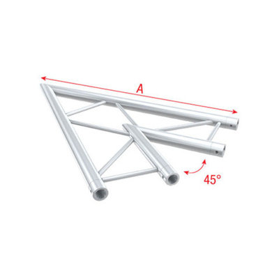 Corner 45° horizontal Pro-30 Step P,F,G Truss
