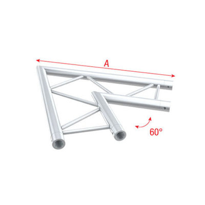Corner 60° horizontal Pro-30 Step P,F,G, Truss
