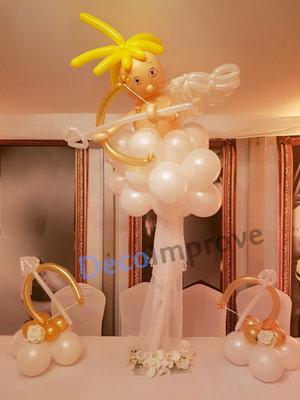 Cupido op Wolk Tafeldecoratie