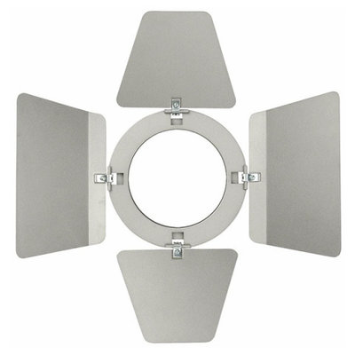 Showtec Barndoor for LED Compact Studio Beam Zilver