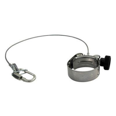 Showtec FX shot Cannon clamp Inclusief Gecertificeerde Veiligheidskabel