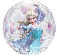 Frozen Transparante Orbz Folie Ballon 40cm