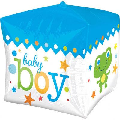 Sweet Baby Boy Cubez Folie Ballon 38cm