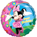 Minnie Mouse 'Happy Birthday' Folie Ballon 45cm