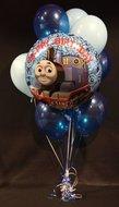 Thomas de Stoomlocomotief Verjaardag Helium Ballonnen Boeket Groot
