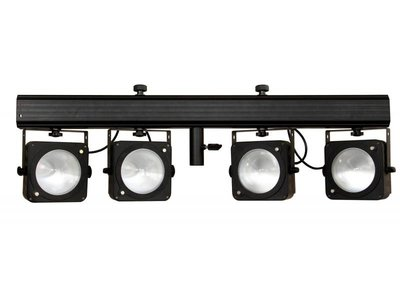 JB SYSTEMS COB-4BAR set powered 4bar 4X 36Watt RGB COB LED + IR + case/bag