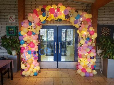 Organic Enkeldeurs Ballonnenboog Ballondecoratie
