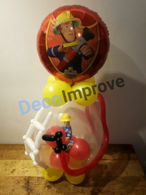 Brandweerman Sam Cadeauballon Stufer Ballon