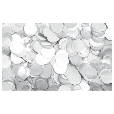 Show Confetti Rond  Ø55mm Wit, 1 kg Vuurvast