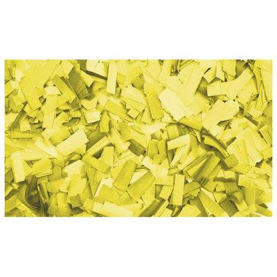 Showtec Show Confetti Rechthoek 55 x 17mm Geel, 1 kg Vuurvast