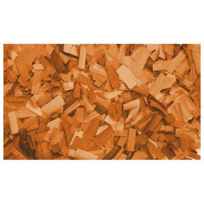 Showtec Show Confetti Rechthoek 55 x 17mm Oranje, 1 kg Vuurvast