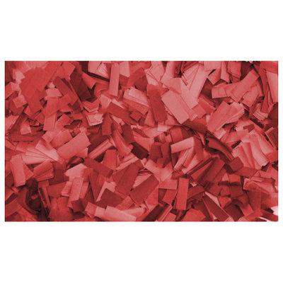 Showtec Show Confetti Rechthoek 55 x 17mm Rood, 1 kg Vuurvast