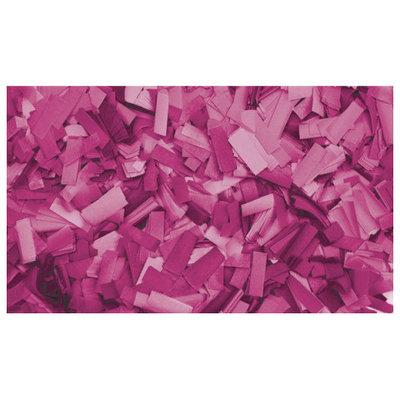Showtec Show Confetti Rechthoek 55 x 17mm Roze, 1 kg Vuurvast