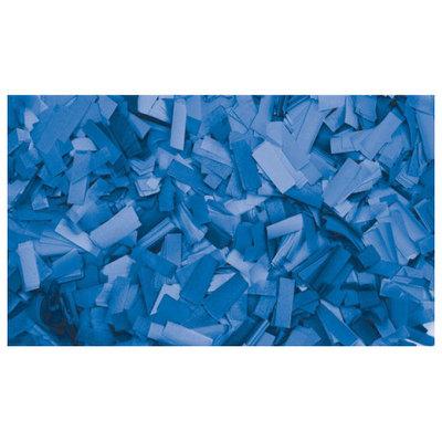 Showtec Show Confetti Rechthoek  55 x 17mm Blauw, 1 kg Vuurvast