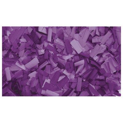 Showtec Show Confetti Rechthoek 55 x 17mm Paars, 1 kg Vuurvast