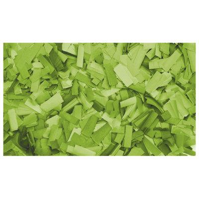 Showtec Show Confetti Rechthoek 55 x 17mm Helder Groen 1Kg Vuurvast