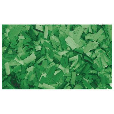 Showtec Show Confetti Rechthoek 55 x 17mm Groen, 1 kg Vuurvast