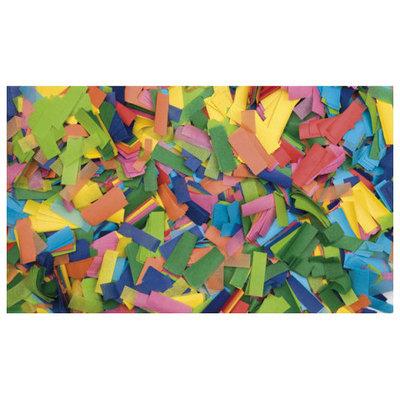 Showtec Show Confetti Rechthoek 55 x 17mm Multi Colour 1Kg Vuurvast