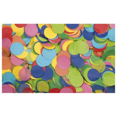 Showtec Show Confetti Rond Ø55mm Meerkleurig Multi Colour, 1 kg Vuurvast