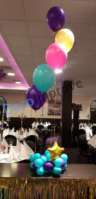 Arabisch Tintje Helium Boeket met 5 ballonnen