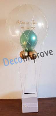 Persoonlijk Chroom Luchtballon Ballondecoratie