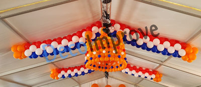 Kroon 3D Ballondecoratie