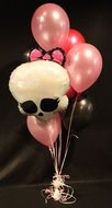 Monster High Helium Ballonnen Boeket