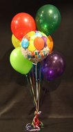 Happy Birthday Helium Ballonnen Boeket