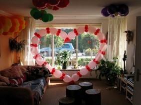 Helium Ballonnen Hart alleen geschikt voor Binnen