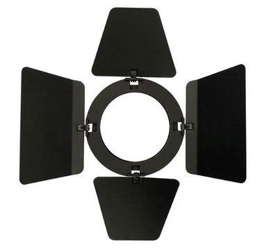 Showtec Barndoor for LED Compact Studio Beam Zwart
