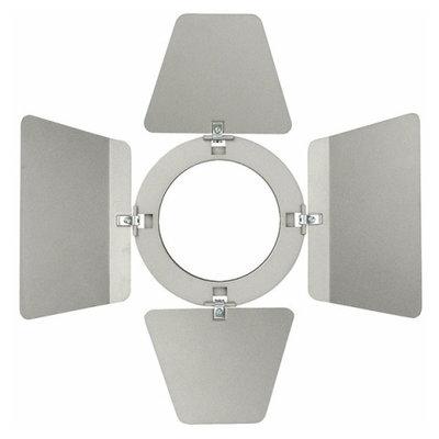 Showtec Barndoor for LED Compact Studio Beam Zilver