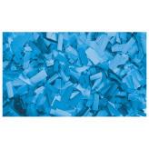 Showtec Show Confetti Rechthoek 55 x 17mm Helder blauw, 1 kg Vuurvast