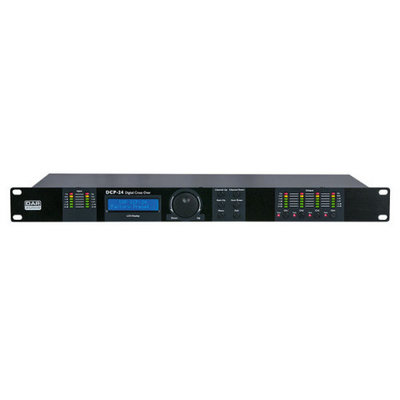 Dap DCP-24 MKII Digitale Crossover met 2 in en 4 out