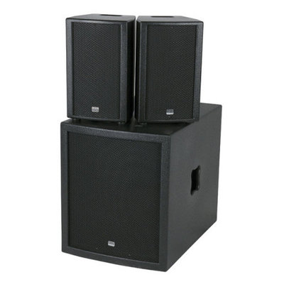 DAP Club Mate II 15 Compacte Actieve Luidsprekerset Speakers Set