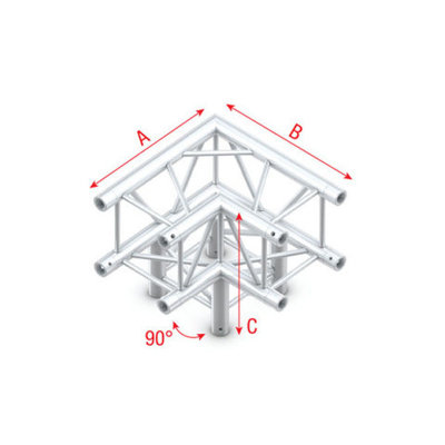 Corner 3-way 90° Pro-30 Square P, F, G Truss