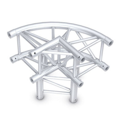 Circle Corner 3-way 90° round Pro-30 Square P,F,G Truss