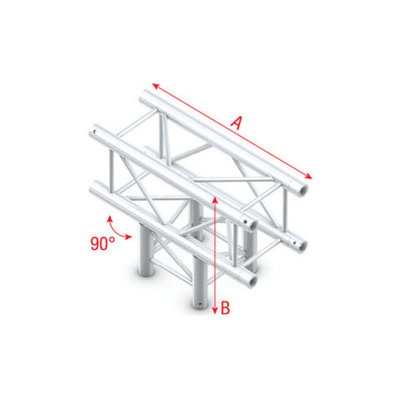 T-Cross 3-way Pro-30 Square P,F,G Truss