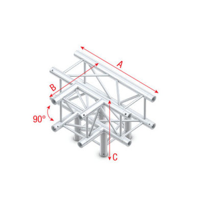 T-Cross + Down 4-way Pro-30 Square P,F,G Truss